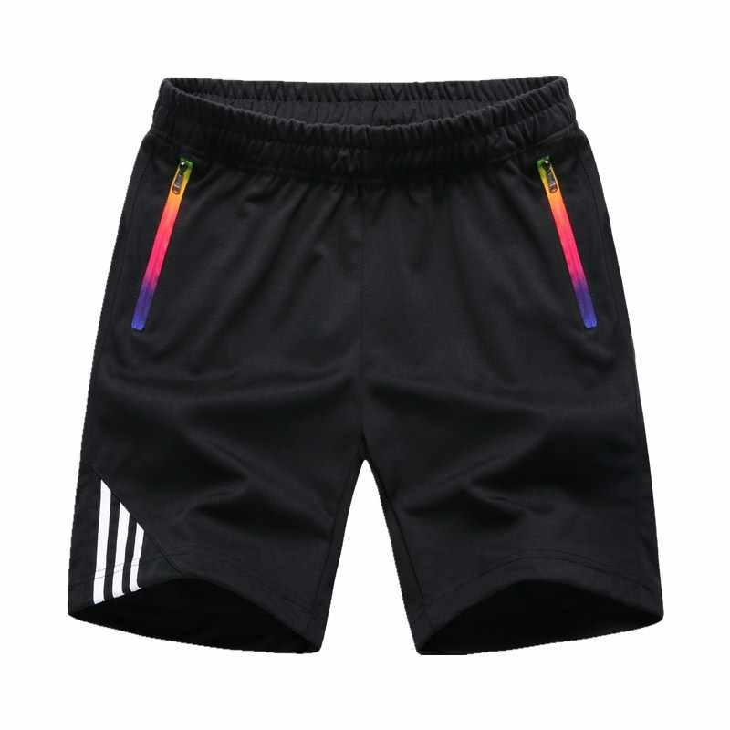 LBL 3 ピースカジュアルショーツ男性夏男通気性メンズショーツスポーツスウェットパンツ男性ビーチショーツオム