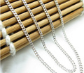 Italy design 17 inch Pure 925 Sterling Silver Necklace chain S925