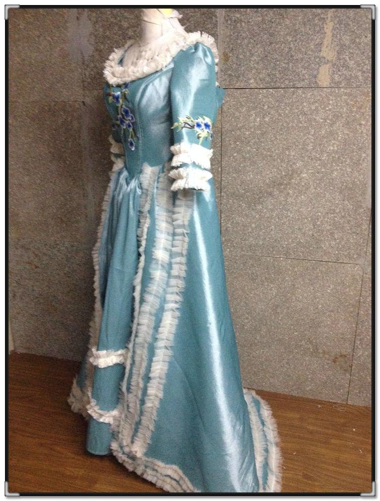 Kunden zu bestellen! Vintage Kostüme Viktorianischen Kleid 1860 S ...