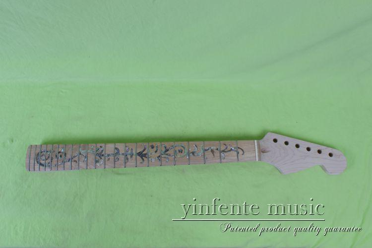 NEW Unfinished electric guitar neck maple  & maple FINGERBOARD 6# new