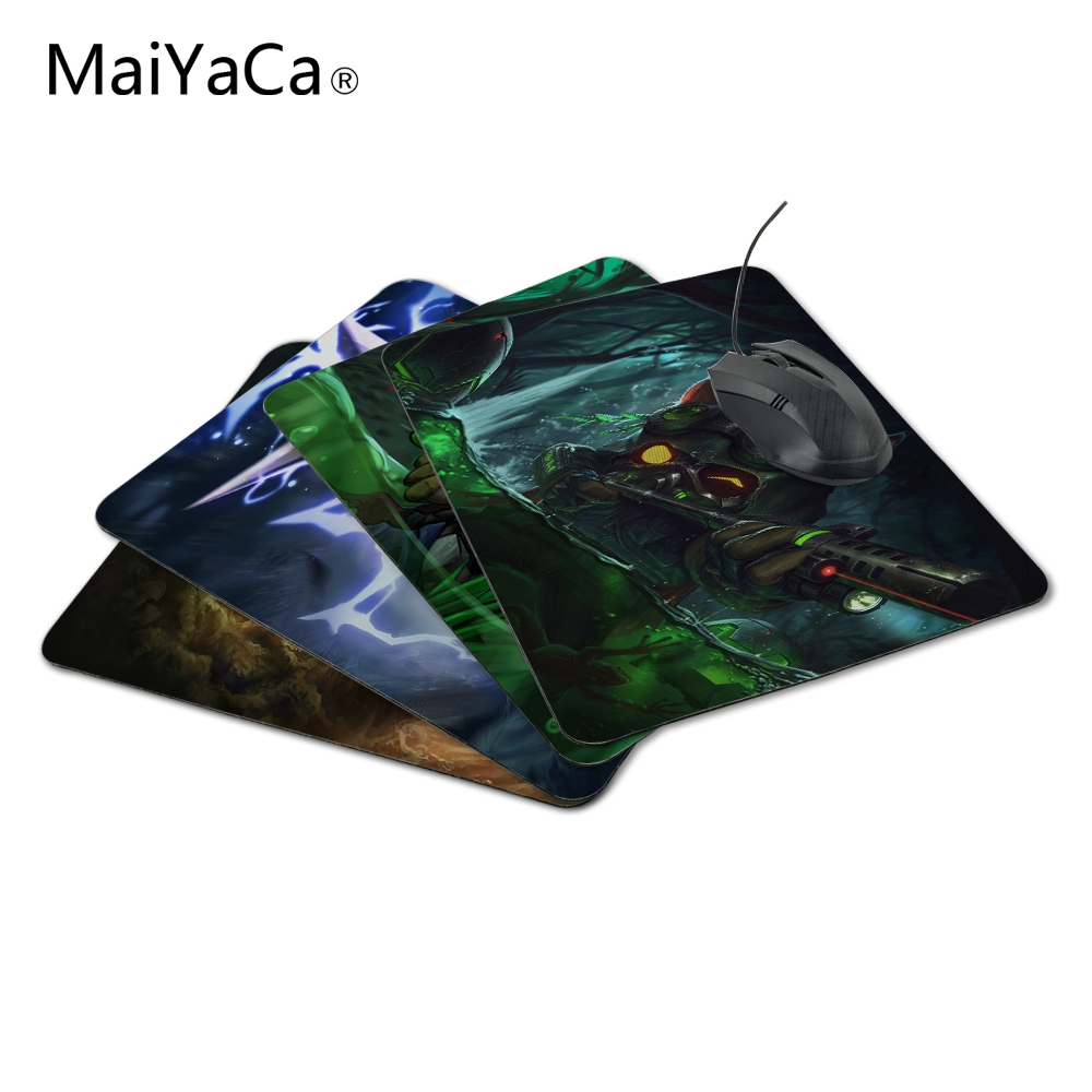 MaiYaCa Custom LoL Omega Squad Teemo Luxury Print Game Design Gaming PC Anti-slip Laptop Mouse Mat for Optical/Trackball Mouse