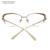Moda de Mujer de Marca Diseñador de las Gafas de Metal Elegante Medio Capítulo Gafas de Ojo de Gato de Las Mujeres Marcos de Las Lentes de Alta calidad LZ