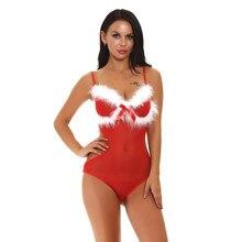 Сексуальное рождественское нижнее белье плюс размер женское нижнее белье Babydoll белое перо Эротическое платье ночное белье боди костюм langeri сексуальный эротический костюм