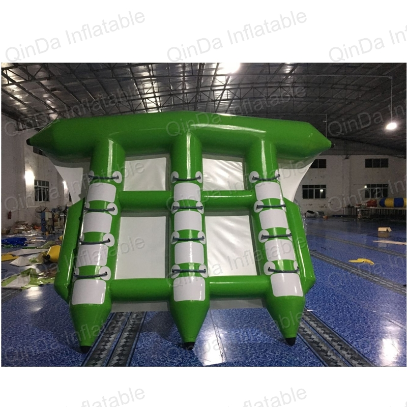 Inflatable Banana Boat Towable/Water Sports Inflatable Flyingfish /gonflable flyfish trilling banana boat on hot sale