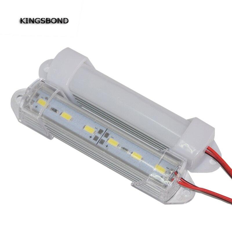 5PCS 10CM DC12V Short Mini LED Bar Light 5630 With PC Cover 6leds Mini LED Rigid Light 1.5W Hard Strip Cabinet Light