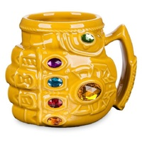Cool Avengers Justice League Creative Cartoon Thanos Fist Mug Milk Coffee Water Mug With Handgrip High Quality Ceramic Cup
