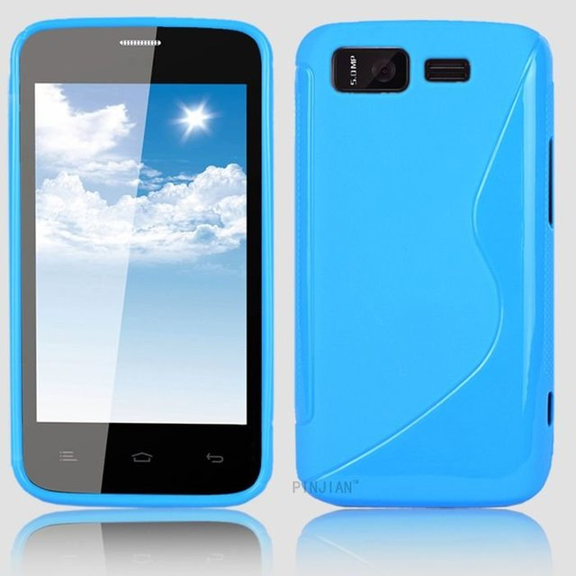 Christmas Gift Protective Soft TPU Gel Back Case For Gionee GN180 Cell Phone Jelly Cover S Wave Style