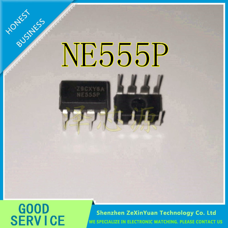 30PC/LOT NE555P NE555N NE555 555P 555 DIP-8 SINGLE HIGH PRECISION TIMER