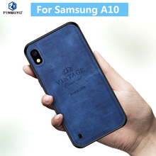For Samsung A10 Case Original PINWUYO VINTAGE PU Leather Protective Phone Case for Samsung Galaxy A10 Shockproof Case стоимость