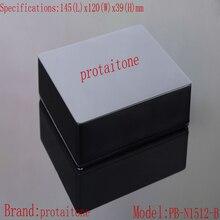 10pcs/lot PB-N1512-B Professional DIY Aluminum Metal Guitar Effect Pedal Box, 145 (L) x120 (W) x39 (H) mm  Free Shipping