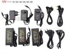 Ledアダプタ12v 1A 2A 3A 5A 6A 8A 10A ledストリップ電源の低電圧トランス · ドライバプラグledストリップ & コンピュータ