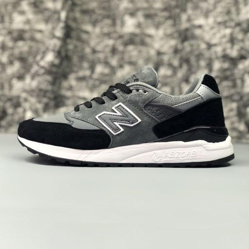 Здесь продается  NEW BALANCE MS998S Couple Shoes Breathable Jogging Lightweight Black White Mixture 36-44 6 Colors  Спорт и развлечения