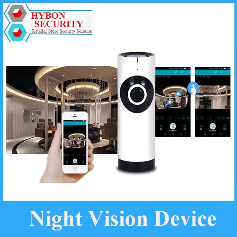 Hybon 180 câmera panorâmica wi fi sem fio câmeras de vigilância segurança em casa câmera do bebê visão noturna cctv monitor do bebê