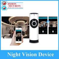 HYBON 180 cámara panorámica WIFI bombilla con cámara de seguridad inalámbrica integrada hogar seguridad bebé cámara de visión nocturna CCTV bebé Monitor