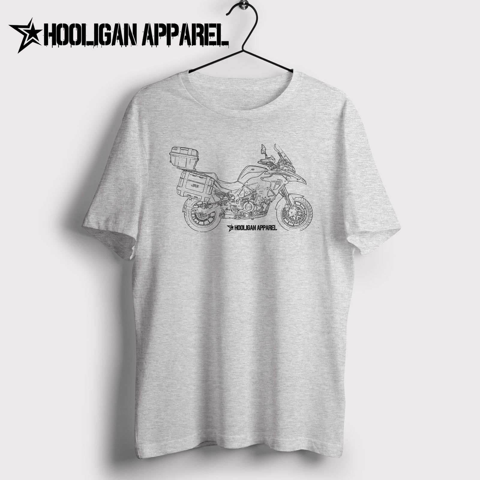2019 New Tops Cool T Shirt Italian Classic Motorcycle Fans Trk 502 Adventure 2019 Inspired Motorcycle Artdesign Tshirt Online