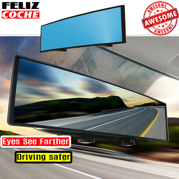 car interior mirrors blue rearview mirror auto reverse back parking safety rear dimming mirrors. Black Bedroom Furniture Sets. Home Design Ideas