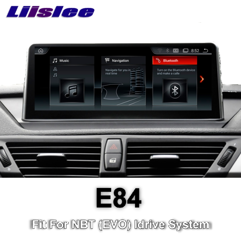 For BMW X1 E84 2009~2015 LiisLee Car Multimedia GPS Audio Hi-Fi Radio Stereo Original Style For NBT Idrive Navigation NAVI коврики в салон bmw x1 e84 акпп 2009