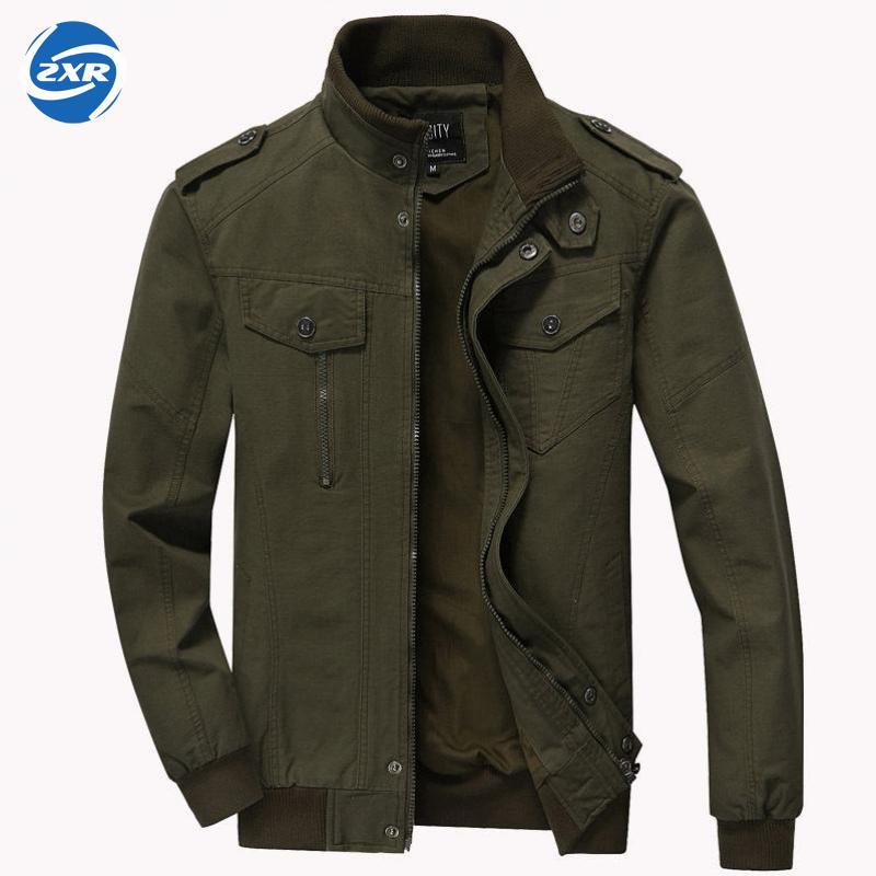 Hommes printemps automne armée militaire pilote Bomber Sports de plein air veste tactique homme veste imperméable coupe-vent veste de terrain