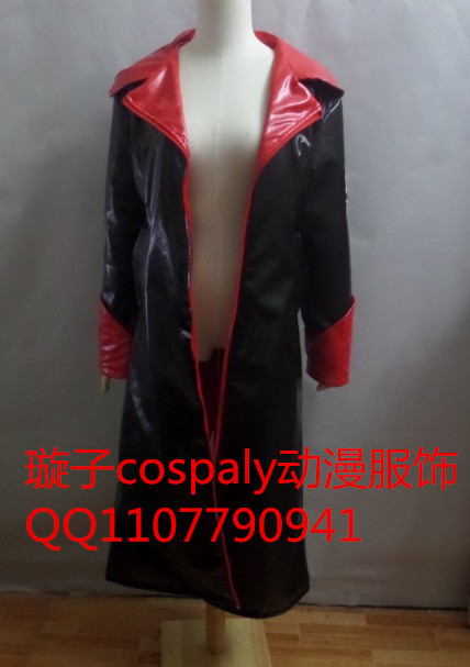 2016 Dmc devil may cry dante costume cosplay jacket Faux Leather