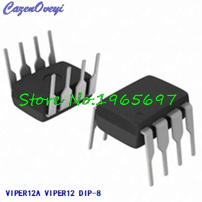 10pcs/lot VIPER12A VIPER12 DIP-8 New Original In Stock