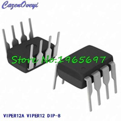 10pcs/lot VIPER12A VIPER12 DIP-8 New Original In Stock
