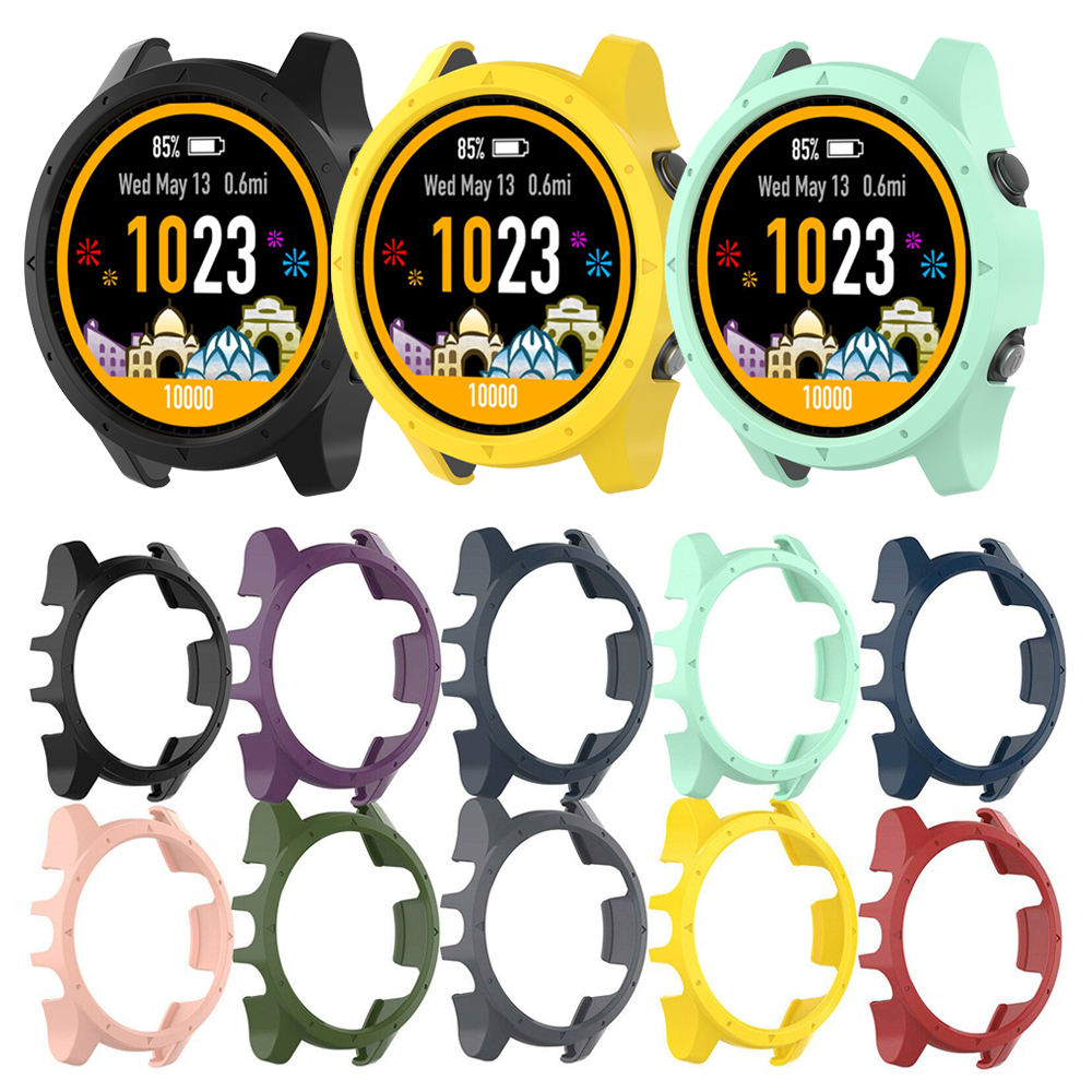 New Fashion Soft PC Watch Case Bracelet Protective Watch Cover Hard Shockproof Screen Protector For Garmin Forerunner 935/945