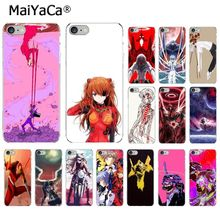 MaiYaCa Neon Genesis Evangelion Anime  New Personalized Phone Accessories Case for iPhone 5 5Sx 6 7 7plus 8 8Plus X XS MAX XR
