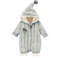 2018 Newborn Baby Romper Costume Baby Boy Clothes Girls Winter Long Sleeve Baby Rompers Jumpsuit Cartoon