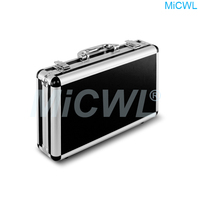 Professional Flight Case for Wired Wireless Microphone System Condenser Dynamic Microphone carrying cases
