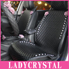 Ladycrystal Custom Car Seat Cover High Quality PU Leather Seat Covers Auto Red Pink Rose Car