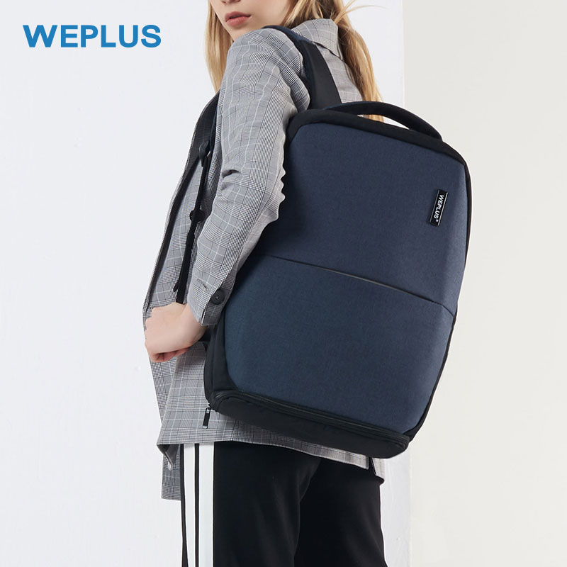 WEPLUS バックパック男性多機能 USB 充電 15.6 インチ Loptop バックパックティーンエイジャーのための旅行 Bagpack 男性 Mochila 抗泥棒  グループ上の スーツケース & バッグ からの バックパック の中 1