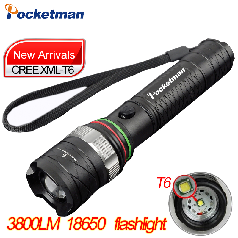 CREE XML-T6 Self Defense LED FlashLight Torch Light powerful Lantern Tactical rechargeable Lanterna Emergency Defensive z50 cree l2 flashlight torch lamp self defense led flash light powerful tactical emergency defensive torch 1battery 1charger