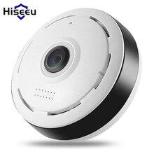 Hiseeu HD FishEye IP camera 960P 360 degree Full View Mini CCTV Camera 1.3MP Network Home Security WiFi VR Camera Panoramic IR