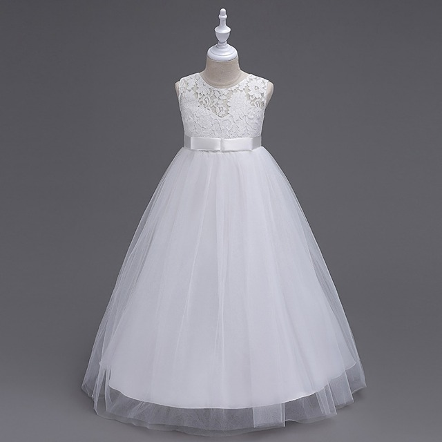 White Party Dresses for Teens