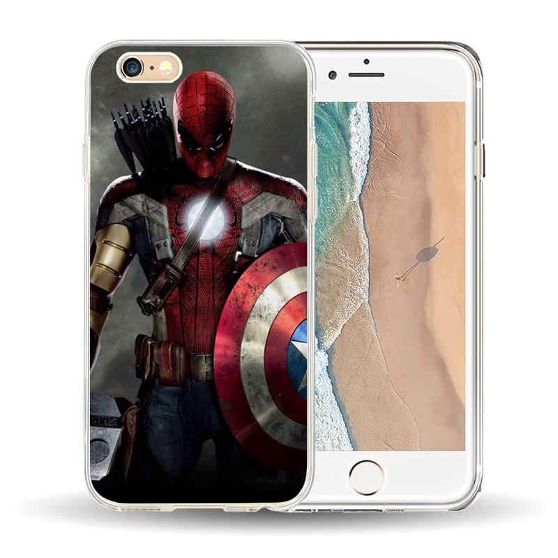 coque iphone x marvel silicone