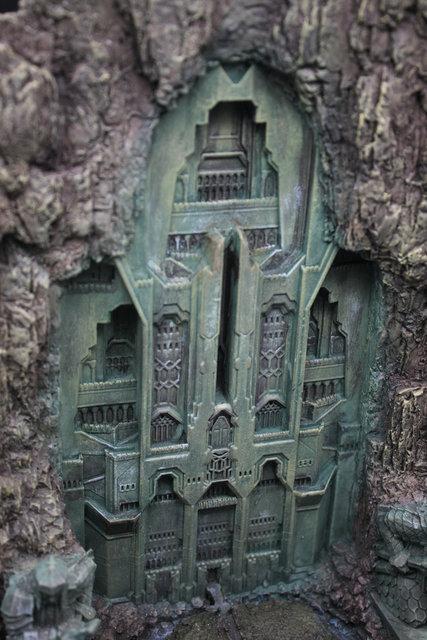 The Hobbit Mountain Gate Statue Resin Figure