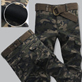 Autumn Winter Thicken Warm Cargo Pants Men Army Military Camouflage Tractical Pant High Quality Fashion Camo Pant Plus Size 38