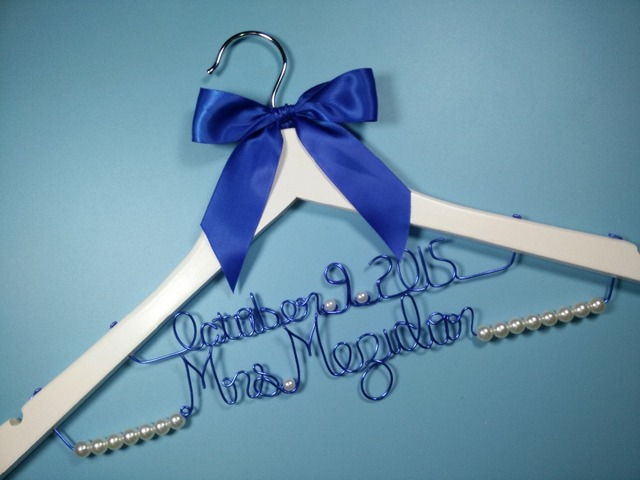 Aliexpress.com : Buy Double line Personalized Wedding Hanger ...