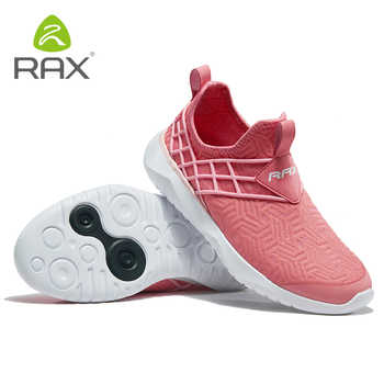Rax Woman Outdoor Running Shoes Breathable Sports Sneakers for Women Light Gym Running Shoes Female 2019 New Style Tourism Shoes