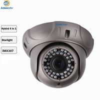 STARVIS Dome Camera SONY IMX307 COMS Varifocal 2.8 12mm Lens 1080P Hybrid 4 in 1 Output Free Switch CCTV Camera AR MHD2303RL