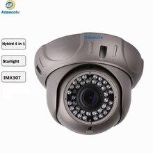 STARVIS купольная камера SONY IMX307 COMS Varifocal 1080-12 мм объектив 2,8 P гибридный 4 в 1 выход Бесплатный переключатель камеры видеонаблюдения AR-MHD2303RL