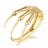 FATE LOVE Brand Women bracelets & bangles for girls Metal Alloy Paw Bracelet fashion jewelry Golden 2017 new arrival