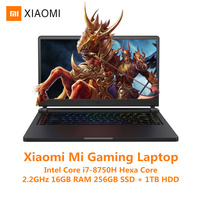 Xiaomi Mi Gaming Laptop Windows 10 Intel Core I7 8750H 16GB RAM 256GB SSD 1TB HDD HDMI Notebook Type C Bluetooth Gaming Notebook