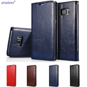 Image 1 - Flip Mappenkasten für Samsung Galaxy S6 SM G9200 6 S SM G920I SM G920FSM G920FD SM G9200 G920i G920F G920FD Luxus leder abdeckung