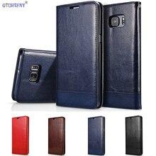 Funda de cuero con tapa para Samsung Galaxy S6 SM G9200 6 S SM G920I SM G9200 G920i G920F G920FD