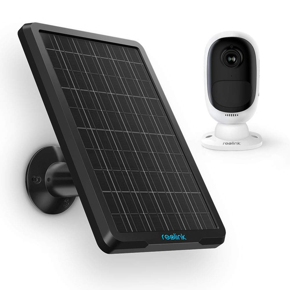 Reolink Solar Panel for Reolink Argus 2 and Argus Pro Rechargeable Battery Powered IP Security Camera