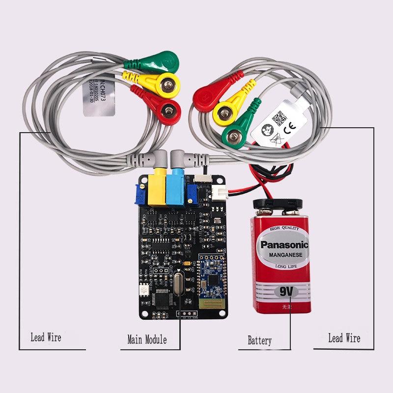 Secondary Development of Intelligent Wearable Device for EMG Sensor Module