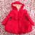Casaco de inverno meninas novo 2015 inverno de espessamento de manter quente casaco de algodão meninas princesa rosa