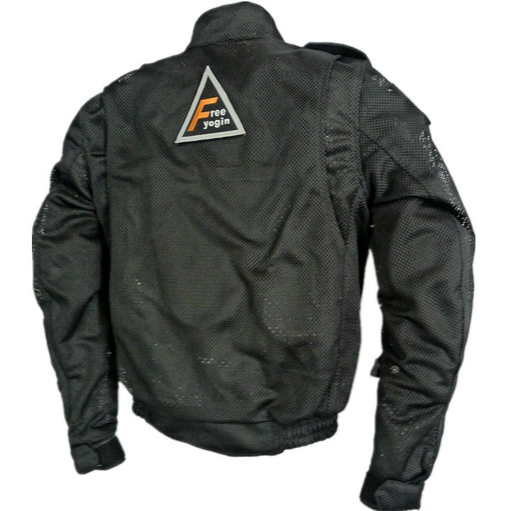 FREE-YOGIN507 mesh jacket Black 2