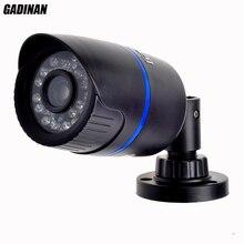 GADINAN Новые HD Ip-камера 720 P Безопасности Открытый Черный ABS корпус Пуля Камеры Наблюдения IP CCTV Hi3518E Onvif Веб-Камера ipcam P2P